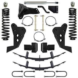 Steering And Suspension - Lift & Leveling Kits - Pure Performance Suspension - Pure Performance Suspension | 5.5 Inch Triple Threat Suspension System 08-10 F250, F350 4x4 Front/Rear | F2TT5503