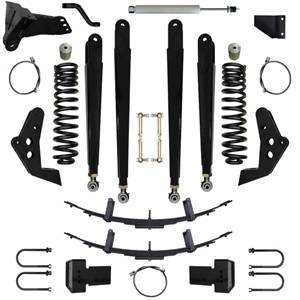 Steering And Suspension - Lift & Leveling Kits - Pure Performance Suspension - Pure Performance Suspension | 5.5 Inch Triple Threat Plus Suspension System 08-10 F250, F350 4x4 Front/Rear | F2TTP5503