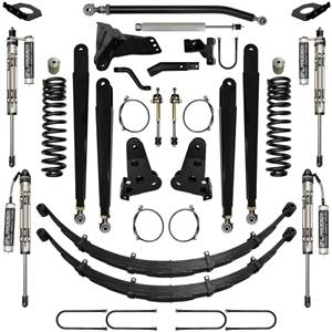 Steering And Suspension - Lift & Leveling Kits - Pure Performance Suspension - Pure Performance Suspension   5.5 Inch Chase Series Suspension System Stage 4 17-Pres F250, F350 4x4 Front/Rear   F2CS5505-S4