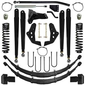 Steering And Suspension - Lift & Leveling Kits - Pure Performance Suspension - Pure Performance Suspension | 5.5 Inch Chase Series Suspension System 08-10 F250, F350 4x4 Front/Rear | F2CS5503