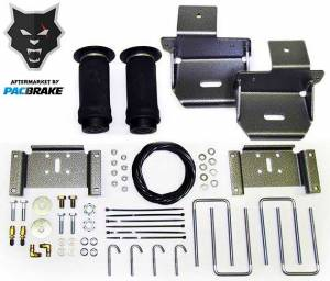Pacbrake | Heavy Duty Rear Air Suspension Kit For 04-09 Ford F-150 | HP10153