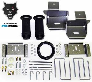 Pacbrake | Heavy Duty Rear Air Suspension Kit For 10-15 Ford F-150 | HP10155