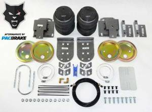 Gas Vehicles - Ram - Pacbrake - Pacbrake   Heavy Duty Rear Air Suspension Kit For 19-20 RAM 1500 4WD   HP10336