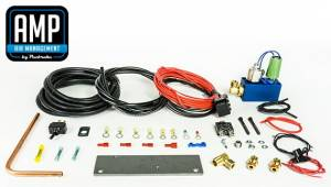 Pacbrake | 24V HP625 Series Heavy Duty Air Compressor Kit Vertical Pump Head HP10625V-24 Air Compressor Basic Components Of The Unloader Block Assembly Does Not Include The Pre-Built Wiring Harnesses | HP10633