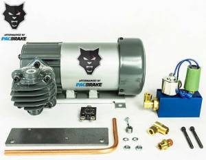 Pacbrake | 12V HP625 Series Heavy Duty Air Compressor Kit Consists HP10625H Air Compressor Basic Components Of The Unloader Block Assembly W/O The Pre-Built Wiring Harnesses | HP10631