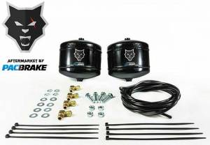 2011-2016 Ford 6.7L Powerstroke - Accessories - Pacbrake - Pacbrake | Air Spring Accumulator Kit Consists Of 0.5 Gallon Air Tank And Required Hardware | HP10302