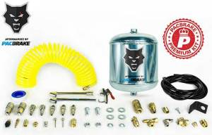 2017+ Ford 6.7L Powerstroke - Accessories - Pacbrake - Pacbrake | 1/2 Gallon Aluminum Premium Air Tank Kit W/Air Tank Airline Air Nozzle Air Accessories Fittings and Fasteners | HP10266