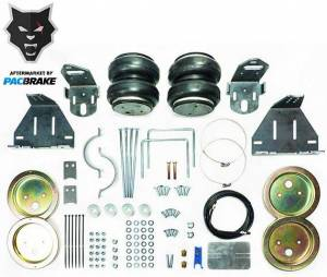 Pacbrake | Heavy Duty Rear Air Suspension Kit For 11-16 Ford F-250/F-350 Super Duty 4WD | HP10247