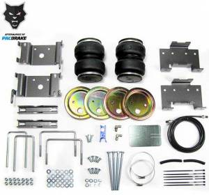 Pacbrake | Heavy Duty Rear Air Suspension Kit For 04-15 Nissan Titan 2WD/4WD | HP10222