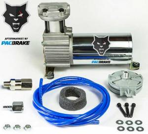Pacbrake | 12V HP325 Series Basic Air Compressor Kit Air Compressor and Required Hardware Only | HP10142