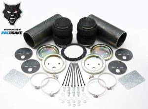 Pacbrake | Heavy Duty Fabricators Rear Air Suspension Kit Small Double Convoluted For Universal Fit | HP10130