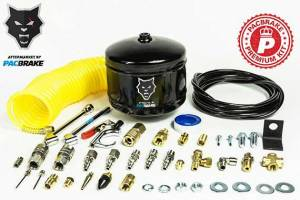 2017+ Ford 6.7L Powerstroke - Accessories - Pacbrake - Pacbrake | 1/2 Gallon Carbon Steel Premium Air Tank Kit W/Air Tank Airline Air Nozzle Air Accessories Fittings and Fasteners | HP10053