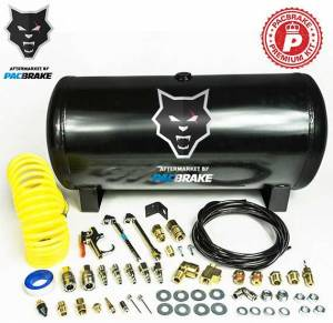2017+ Ford 6.7L Powerstroke - Accessories - Pacbrake - Pacbrake | 5 Gallon Carbon Steel Premium Air Tank Kit Consists Of An Air Tank And Required Hardware | HP10051