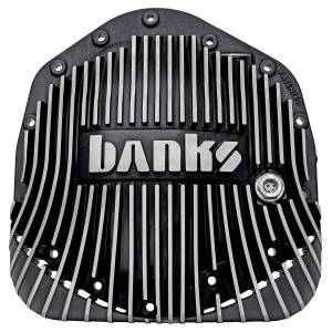 Shop by Part - Axles & Components - Banks Power - Banks Power | Differential Cover Kit Satin Black/Machined w/Hardware 01-19 Chevy/GMC 03-18 Ram with AAM 11.5 Inch or 11.8 Inch 14 Bolt Rear Axle | 19249
