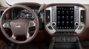 Interior - Interior Accessories - Linkswell Technology - LINKSWELL | 2014-2018 CHEVY/GMC 1500/ 2015-2019 CHEVY/GMC 2500/3500 GENERATION IV T-STYLE RADIO | TS-GMPU12-1RR-4A