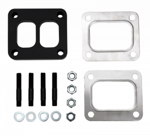 1994-1997 Ford 7.3L Powerstroke - Axles & Components - Wehrli Custom Fab - Wehrli Custom Fab   T4 Spacer Plate Kit .5 Inch with Studs and Gaskets   WCF100118